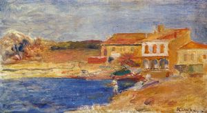 Pierre-Auguste Renoir - Houses by the Sea