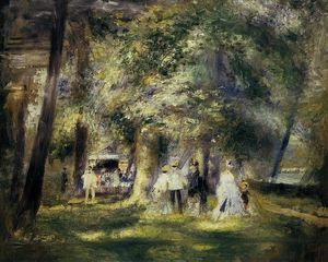 Pierre-Auguste Renoir - In St Cloud Park