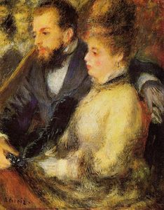 Pierre-Auguste Renoir - In the Loge