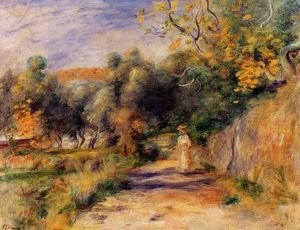 Order Museum Quality Copies | Landscape at Cagnes, 1907 by Pierre-Auguste Renoir (1841-1919, France) | WahooArt.com