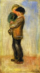 Pierre-Auguste Renoir - Man Carrying a Boy