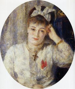 Order Art Reproductions | Marie Meunier, 1877 by Pierre-Auguste Renoir (1841-1919, France) | WahooArt.com
