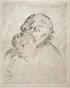 Pierre-Auguste Renoir - Mother and Child 2