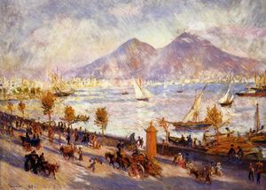 Pierre-Auguste Renoir - Mount Vesuvius in the Morning