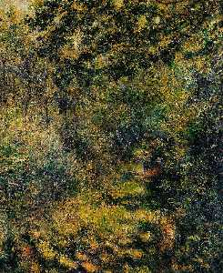 Pierre-Auguste Renoir - Path through the Woods