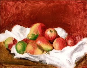 Pierre-Auguste Renoir - Pears and Apples