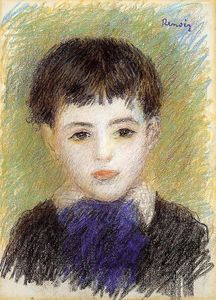 Pierre-Auguste Renoir - Portrait of Pierre