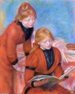 Pierre-Auguste Renoir - Reading