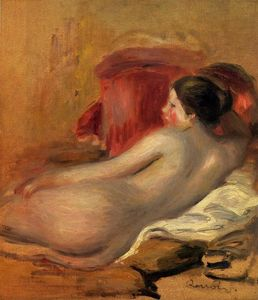 Pierre-Auguste Renoir - Reclining Model