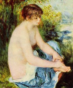 Pierre-Auguste Renoir - Small Nude in Blue