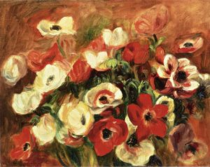 Pierre-Auguste Renoir - Spray of Anemones
