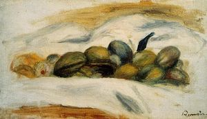 Pierre-Auguste Renoir - Still Life Almonds and Walnuts