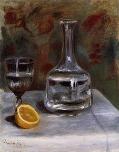 Pierre-Auguste Renoir - Still Life with Carafe
