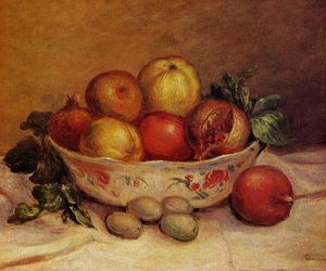 Pierre-Auguste Renoir - Still Life with Pomegranates