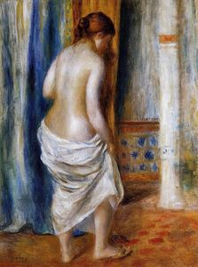 Pierre-Auguste Renoir - The Bathrobe