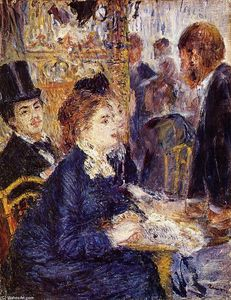 Pierre-Auguste Renoir - The Cafe