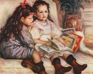 Pierre-Auguste Renoir - The Children of Martial Caillebotte
