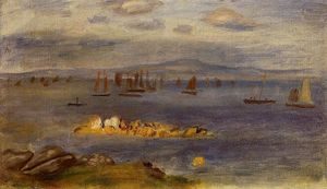 Pierre-Auguste Renoir - The Coast of Brittany, Fishing Boats