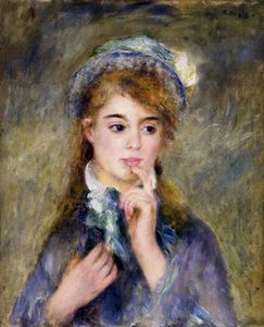 Pierre-Auguste Renoir - The Ingenue