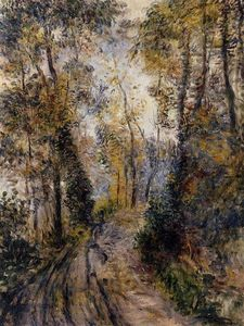 Pierre-Auguste Renoir - The Path through the Forest