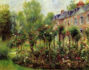 Pierre-Auguste Renoir - The Rose Garden at Wargemont