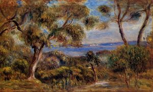 Pierre-Auguste Renoir - The Sea at Cagnes