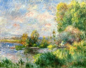 Pierre-Auguste Renoir - The Seine at Bougival