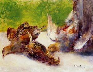 Pierre-Auguste Renoir - Three Partridges
