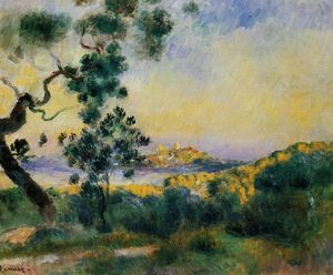 Pierre-Auguste Renoir - View of Antibes