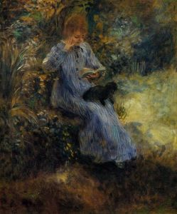 Pierre-Auguste Renoir - Woman with a Black Dog