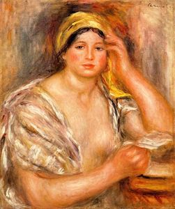 Pierre-Auguste Renoir - Woman with a Yellow Turban