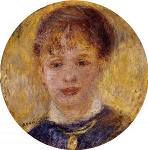 Pierre-Auguste Renoir - Woman's Head 1