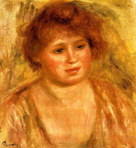 Pierre-Auguste Renoir - Woman-s Head 2