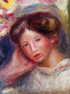 Pierre-Auguste Renoir - Woman-s Head