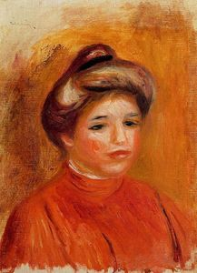 Pierre-Auguste Renoir - Woman-s Head 6