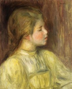 Pierre-Auguste Renoir - Woman-s Head, The Thinker