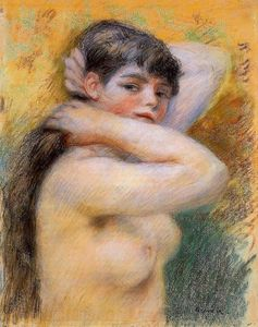 Pierre-Auguste Renoir - Young Woman at Her Toilette
