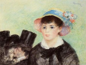 Pierre-Auguste Renoir - Young Woman in a Straw Hat 1