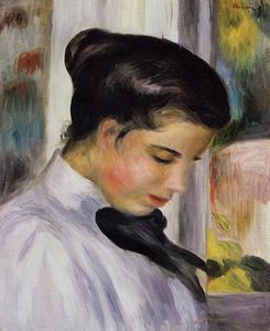 Pierre-Auguste Renoir - Young Woman in Profile