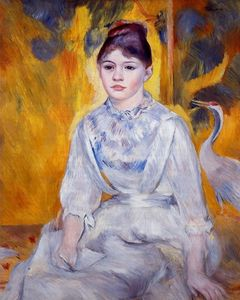 Pierre-Auguste Renoir - Young Woman with Crane