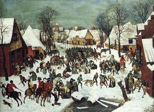 Pieter Bruegel The Elder - The Slaughter of the Innocents