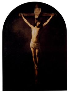 Rembrandt Van Rijn - Christ on the Cross