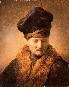 Rembrandt Van Rijn - Old Man in Fur Coat