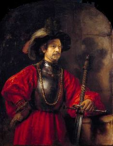 Rembrandt Van Rijn - Portrait of a Man in Military Dress