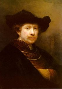 Rembrandt Van Rijn - Portrait Of The Artist In A Flat Cap