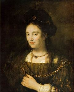 Rembrandt Van Rijn - Saskia, the Artist-s Wife