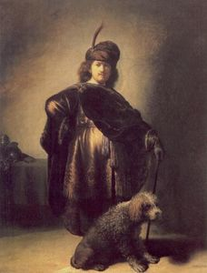 Rembrandt Van Rijn - Self Portrait in Oriental Attire