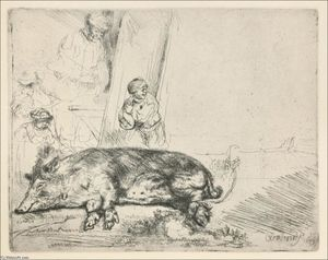 Rembrandt Van Rijn - The Hog