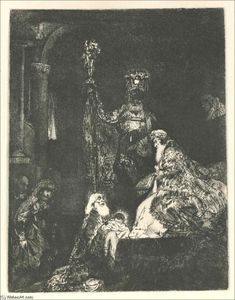 Rembrandt Van Rijn - The Presentation