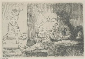 Rembrandt Van Rijn - The Sport of Golf